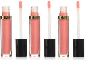 Revlon Super Lustrous Lip Gloss, Pango Peach (Pack of 3)