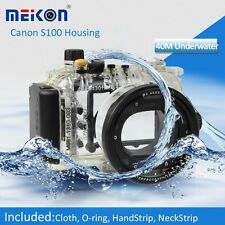 40M Waterproof Underwater Housing waterproof Case for Canon S100 / S100V camera