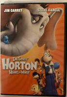 DR. SEUSS Horton Hears a Who (DVD, 2009, Widescreen and Full Screen)