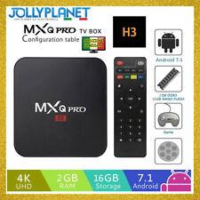 MXQ Pro Android Box 7.1 1GB 8GB Quad Core Allwinner H3 4K Smart TV WIFI