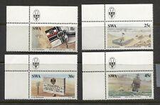 SOUTH WEST AFRICA 1984, GERMAN COLONIZATION CENTENARY, Scott 528-531, MNH