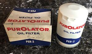 PUROLATOR PER-3 OIL FILTER 1958-63 Rambler 59-62 Studebaker Packard 58 Hudson