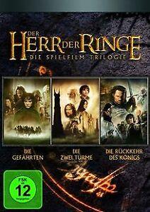 Der Herr der Ringe - Die Spielfilm Trilogie (Kinofilme) (...   DVD   Zustand gut