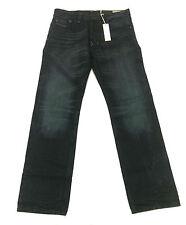 Diesel Men's Larkee Wash R823I Regular Straight Jeans Dark Wash Size 31x32