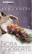 BED OF ROSES bestselling audio book on CD by NORA ROBERTS *** FREE SHIPPING ***
