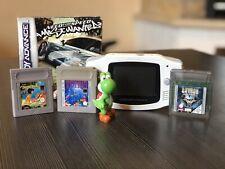 Nintendo Game Boy Advance Weiß Tetris Dschungelbuch Batman & Need for Speed