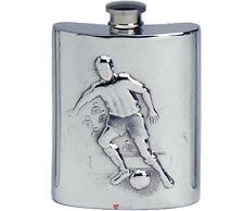 Liquor Footballs Collectable Hip Flasks