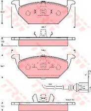 NUOVO TRW gdb1386dte Freno Pad set-vwgolf VI Variant (AJ5) 200907 - /