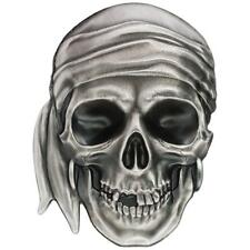 Palau 5 dólares 2017 calavera Pirate Skull 1 Oz plata Antik Finish High Relief