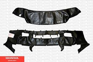 Genuine Honda Front Bumper Full Nose Mask Fits: 1999-2000 Civic (08P35-S01-100J)