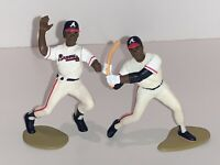Starting Lineup MLB BRAVES Deion Sanders Terry Pendleton Sports Act Figures 1993