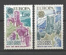 Andorre Français 1977 Yvert n° 261 et 262 neuf ** 1er choix