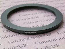 95mm to 77mm 95mm-77mm Stepping Step Down Filter Ring Adapter