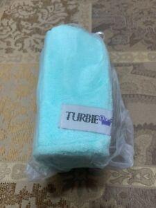 NEW Turbie Twist Super Absorbent Microfiber Hair Towel Wrap (Light Aqua)