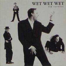 "WET WET WET 'LIP SERVICE / HIGH ON THE HAPPY SIDE' UK PICTURE SLEEVE 7"" SINGLE"