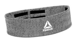 Reebok Running Headband Sports Band Gray Tennis Hairband YOGA Bands RAYG-13201