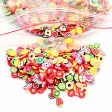 1000 PCS 3D Cute Animal/Fruit/Flower Nail Art Fimo Cane Polymer Clay Decals DIY