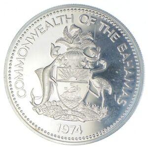 1974 The Bahamas 2 Dollars - TC *896