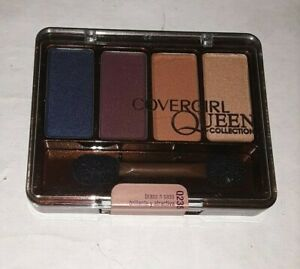 discontinued COVERGIRL QUEEN COLLECTION EYESHADOW QUADS Q235 BRASS N SASS sealed
