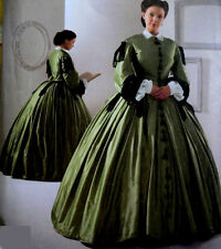 Civil War Costume Miss 16 18 20 22 24 Simplicity Sewing Pattern UNCUT New 2887