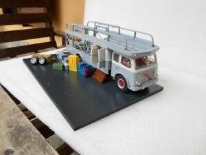Camion Truck Fiat 642 Bartoletti 1/43 Ferrari 682  car transporter no lancia
