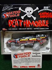 2003 Whit Bazemore Deathmobile Animal House NHRA 1:24 Scale Funny Car Diecast