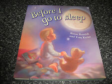 BEFORE I GO TO SLEEP BY RONNE RANDALL SOFTCOVER BRAND NEW