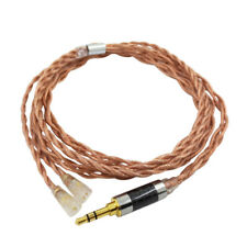 Headphone Cable Earphone Wire 7N OCC 2 Pin 0.78mm for Senheiser IE8 IE80 IE80S T