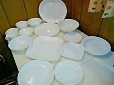 GUC Corelle by Corning Winter Frost White Replacement Dishes Choose Plate Bowl