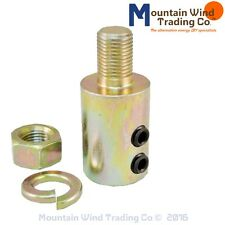 "1/2"" Shaft Hub Adapter for Wind Turbine Blades Arbor Adaptor 17mm Threads"