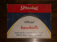 Spalding Vintage Offical Baseball Box-Empty Box That Once Held One Dozen Balls