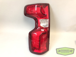 Chevrolet Silverado 2019 2020 LH Left LED Tail Light w/Harness OEM 84678149 NEW