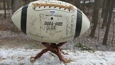 1963 Baltimore Colts Team-signed Football with Johny Unitas PSA/DNA Certified