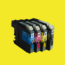 4 compatible refillable cartridge with ink NO CHIP for Brother LC233 233 223 663