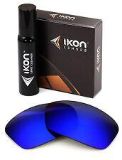 Polarized IKON Iridium Replacement Lenses For Oakley Turbine Deep Blue Mirror