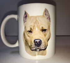 Pit Bull Staffordshire Bull Terrier 3D Dig Puppy Coffee Mug Cup American Staff
