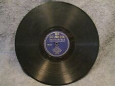 """78 RPM 10"""" Record Nelson Eddy Route Marchin & Boots Columbia Masterworks 17450-D"""