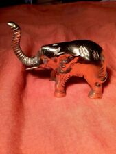 Vintage Bronze Elephant Statues Figurine