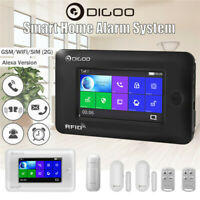 Digoo DG-HAMA 433MHz Touch Wireless Smart Home Security Alarm System Kit