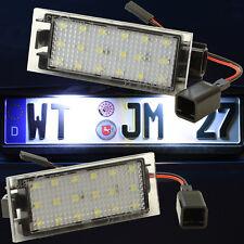 LED SMD Kennzeichenbeleuchtung RENAULT Kennzeichenleuchten Nummernschild 71601-1