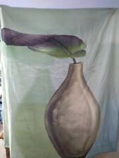Lisa Audit potted plant shower curtain