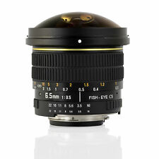 Opteka 6.5mm HD Fisheye Lens for Nikon D610 D1 D1H D1X D2X D2Xs D40x D50 D60 D3