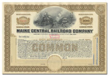 New listing Maine Central Railroad Company Stock Certificate