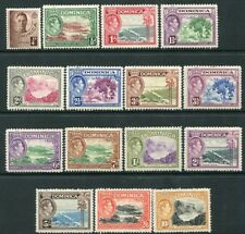DOMINICA-1938-47 Set to 10/- Sg 99-109a  MOUNTED MINT V20125