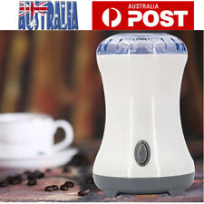 Electric Coffee Spice Grinder Maker For Beans Herbs Mill Cafe Home Office OZ