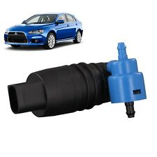 Front & Rear Windscreen Washer Pump Fits Mitsubishi Lancer Sportback 2008 to2011