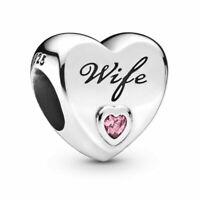 Pandora WIFE Moments  Charm UK S925 ALE Silver 798249PCZ