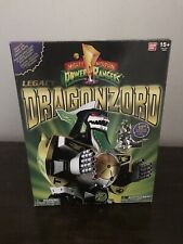 Bandai Mighty Morphin Power Rangers Legacy Dragonzord Die-Cast Green Ranger Zord