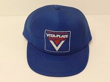 Vintage Vita-Plate Batteries Hat - Trucker Snapback Adjustable Retro Cap