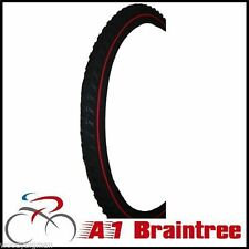 Raleigh Clincher Bicycle Tyres with Knobby Tread